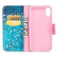 Patrón de cuero Billetera Funda carcasa Para Samsung Note9 iPhone HuaWei Sony LG