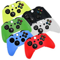 AU_ Fashion Game Controller Silicone Gel Case Cover Skin for   One