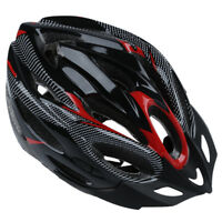 JING SU ZHE Sports Red Bike Bicycle Cycling Safety Helmet with Visor Adult P9V5