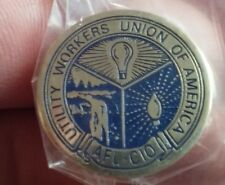 Utility Workers Union of America pin pre-owned AFL CIO