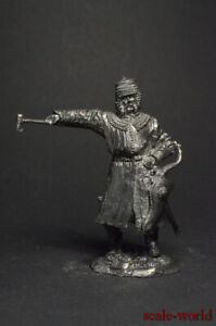 Tin soldiers figures Polish armored Cossack, 17th century 54mm