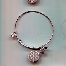 flower silver bracelet Alex & Ani venus