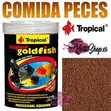 COMIDAS PARA PECES COMIDAS DE PECES COMIDA PECES ACUARIO AGUA FRIA GOLDFISH KOI