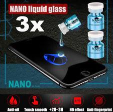 3Stk  NANO Liquid Glass Screen Protector oleophobe Beschichtung Film Universal