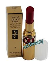 Yves Saint Laurent Rouge Volupte Shine Lipstick (5 Fuchsia in Excess) NITB