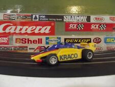 TYCO YELLOW & BLUE #18 KRACO MICHAEL ANDRETTI F1 INDY CAR WITH 440-X2 CHASSIS
