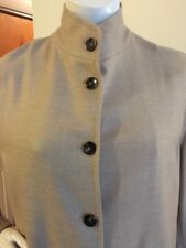 Loro Piana Blazer Jacket Coat 100% Cashmere Women's Size 44 Beige