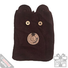 Bear iPad Case. Cool Vintage Style Knitted Animal Phone Cover
