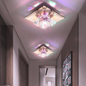 LED Ceiling Downlight Crystal Light Fixture Recessed Surface/Flush Mount Lamp