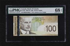 2003-05 Canada Bank of Canada BC-66a 100 Dollars PMG 68 EPQ Superb Gem UNC