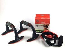 Fitness Workout Bundle Nike Push Up Grip And Valeo Med Resistance Tube/Band