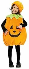 Childs Pumpkin Toddler Halloween Fancy Dress Outfit Costume Age 2-3 Years