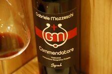 """6 BT """" COMMENDATORE"""" SYRAH igp 2013 LE CAPANNE GABRIELE MAZZESCHI"""