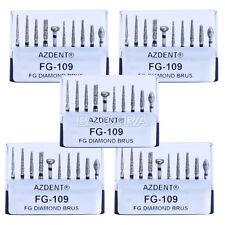 AZDENT 50Sets Dental Porcelain Preparation/Repair Kit 10Pcs/Kit FG-109 Wholesale