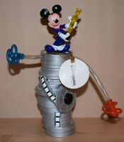 Rare Mickey Mouse Oscar Award Disney Paris Parade Spinning And Light Up Toy