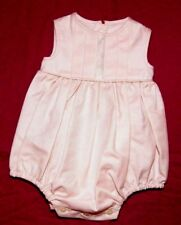 COMBISHORT 3 / 6 MOIS FILLE GRENOUILLERE BARBOTEUSE BEBE tenue bapteme ROSE