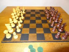 Chess 11 INCH Wood Game Board & Chess Pieces
