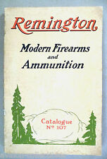 Remington Firearms CATALOG #107 - 1923 ~~ fire arms, rifles, ammunition