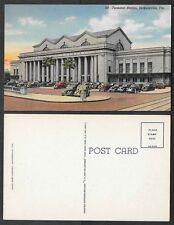 Old Railroad Postcard - Jacksonville, Florida - Terminal Station