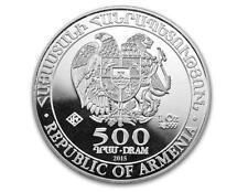 2015 1 oz Silver Armenia Noah's Ark Coin BU -  .999 Fine Silver Coin #A231