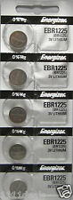 Energizer Lithium BR1225 3-Volt Coin Cell CR1225 Battery (5-Pack)