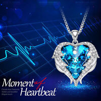 Heart of The Ocean Necklace from Titanic Movie Silver and Swarovski Crystal ...