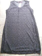 BNWT Women's Black Lace Sleeveless Dress Size 18