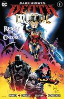 DC COMICS DARK NIGHTS DEATH METAL #1 (OF 6) FOIL COVER