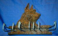 Scottish Terrier Tie Belt Rack Holder Scotty Scottie Dog