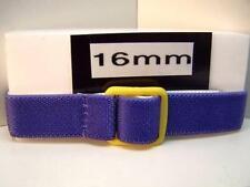 Three Ladies/Kids Fabric Stretchy Nylon Watchbands 16mm Width Blue
