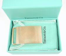 """Yellow Gold Buckle for 1"""" Belt w/box Rare Antique Authentic Tiffany & Co 14K"""