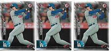 2016 Bowman Trayce Thompson Paper Rookie lot of (29) RC Dodgers Klay Brother