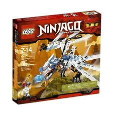 LEGO Ninjago Ice Dragon Attack 2260 Zane and Krazi