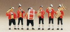 HO Preiser 10206 *Oktoberfest* German Tyrolean Street Band Set #1 SIX FIGURES