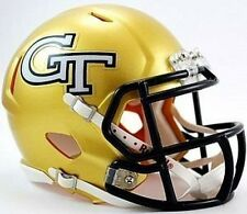 Georgia Tech Yellow Jackets Riddell Football Team Revolution SPEED Mini Helmet