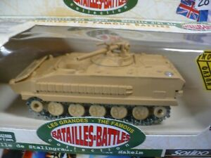 Solido Famous Battles AMX 10 Tank #6213 series 2 WWII diecast vehicle