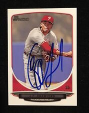 J.P. CRAWFORD JP 2013 BOWMAN TOPPS AUTOGRAPHED SIGNED AUTO BASEBALL CARD BDPP32