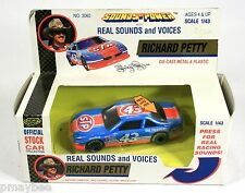 1992 Road Champs RICHARD PETTY #43 Die-Cast 1/43 Scale Nascar with Sounds Voices