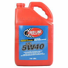 RED LINE High Performance Synthetic Motor Oil 5W-40 5W40 1 US Gallon 3.78 Litre