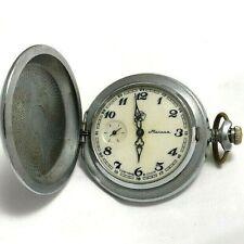 Rare Pocket watch Molniya Ussr Soviet Russian Vintage GIFT