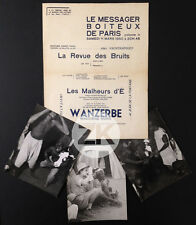 WANZERBE MAGICIENS NOIRES Jean ROUCH Max BUCAILLE Messager Boiteux 3 Docs 1950