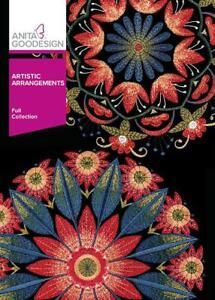 Artistic Arrangements Anita Goodesign Embroidery Design CD NEW