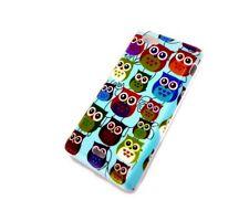 Hülle f Sony Xperia J ST26i Schutzhülle Case Cover Tasche Schale Owl kleine Eule