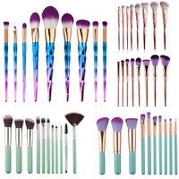 Pro Multi Make up Brush Cream Foundation Powder Contour Cosmetic Kabuki Tool Set