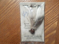 RARE VINTAGE GAPEN FLY CO/ JIG  MUDDLER Anoka MINNESOTA/ FACTORY SEALED!!