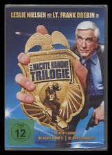 DVD DIE NACKTE KANONE TRILOGIE - 1 + 2 + 3 - LESLIE NIELSEN + PRISCILLA PRESLEY