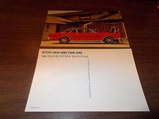 1969 Ford Falcon Futura Sports Coupe Advertising Postcard