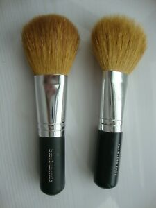 Bare Minerals-  2 x MINI  FULL FLAWLESS APPLICATION FACE BRUSHES - TRAVEL SIZES