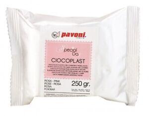 Modellier Schokolade 250 gramm pink