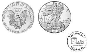 USA  American Eagle 2015  Anlage Münze 1 oz - Unze  999 Silber * St / BU *